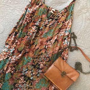 ONIEL Floral tank dress